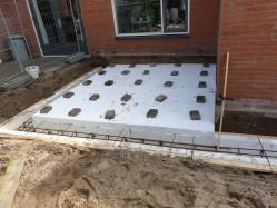 Voorbereiding betonvloer